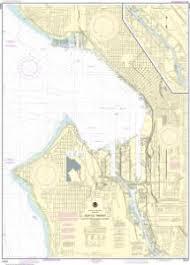 Elliott Bay Tide Charts Nautical Charts Online Noaa Nautical Chart 18450 Seattle