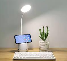 ⭐Đèn học để bàn led siêu tiết kiệm điện và đèn học bảo vệ mắt sạc USB dùng  đến 8.5h - đèn học có ngăn đựng bút cao cấp: Mua bán trực