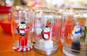 Decorating Ideas For Glass Jars Homemade Christmas Ornaments Ideas Christmas Celebration 73