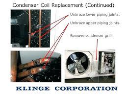 ac condenser replacement cost.  Condenser Air Conditioner Evaporator Coil Leak Repair Cost Condenser Replacement In  India Coils R Throughout Ac C