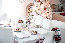 Table Setting For Breakfast Simple Christmastime Breakfast Tablesetting