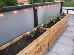 deck garden box. Vegetable Planter Boxes Plans, This Would Be Perfect Lining A Patio Or Deck! Deck Garden Box 1