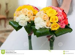 wedding bouquet from flowers in hands of the bride fresh flower bridal r49