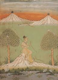 asavari ragini ragamala painting from bikaner rajasthan c 1740 1760 via milleorienti files wordpress
