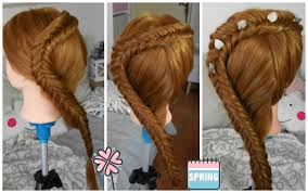 Tuto Coiffure Simple Dutch Fishtail Braid Tresse Pi De Bl