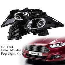 Ford Mondeo Fog Lights Switch Amazon Com Clear Lens Led Daytime Running Lights Drl Fog