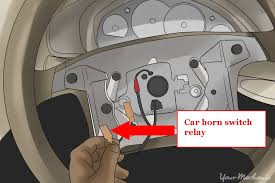 how to fix a car horn yourmechanic advice open steering wheel