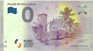 Auf der rückseite der euro scheine ist eine brücke abgebildet, welche die verbindung der europäischen staaten. Mallorca Auf Einem Nicht Ganz Echten Euro Schein