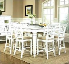 white counter height dining table home furnishings 9 piece gathering set find complete details 7pc modern simplicity 5 counter height