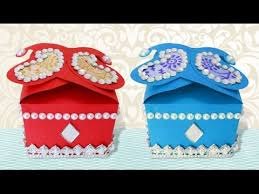 Decorating Boxes With Paper DIY Crafts How to Make Cute Handmade Decorative Small Gift Box 73