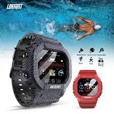 (Ready Stock!!!)    <b>LOKMAT Ocean Smart Watch</b> Touch Screen Heart ...