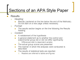 Sample Of An Apa Research Paper Mba Assignment Help India Sample Apa Research Paper Results