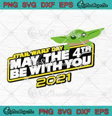 2021 Baby Yoda SVG PNG EPS DXF - Disney ...