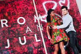 Orlando bloom talks kissing his juliet, condola rashad. Broadway Com Photo 2 Of 9 Romeo And Juliet S Orlando Bloom Condola Rashad Show Off Their Red Hot Chemistry In Times Square
