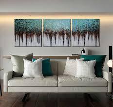 Amazon Com Artland 100 Hand Painted Unframed Wall Art Blue