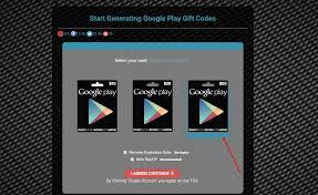 get google play gift code