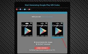 get google play gift code