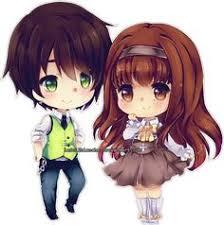 anime love chibi. Interesting Chibi C Kalameli By LaDollBlanchedeviantartcom On DeviantArt On Anime Love Chibi A