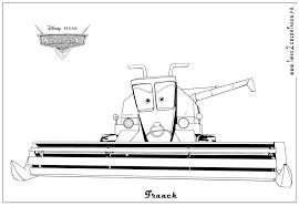 Coloriages Cars 2 Franck Cars2 Coloriages Les Bagnoles 2