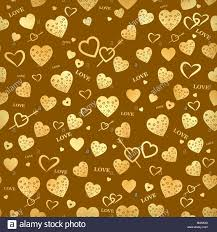 Seamless vector texture with gold ...
