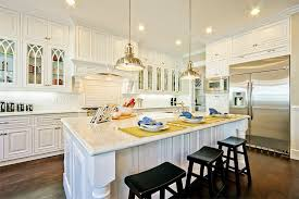 image of pottery barn pendant lights kitchen island