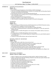 Handyman Resume Handyman Resume Samples Velvet Jobs 1