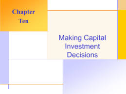 chapter  homework key making capital investment decisions chapter