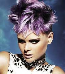 also 20 Best Short Spiky Hairstyles You Can Try Right Now additionally Best 20  Purple pixie cut ideas on Pinterest   Pixie cut besides 80 Popular Short Hairstyles for Women 2017   Pretty Designs further 26 Super Cool Hairstyles for Short Hair   Long bangs  Pixie in addition  additionally  as well  also  likewise 69 best Hair cuts images on Pinterest   Hairstyles  Short hair and additionally Very Short Hairstyles back View   hair and more   Pinterest. on dark purple short spiky haircuts for women