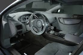 Interior Aston Martin V12 Vantage Rs Concept 2007