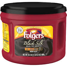 Folgers Coffee Chart J M Smucker Company Folgers Black Silk Dark Ground Coffee Ground Regular Black Silk Dark 24 2 Oz Per Canister 1 Each