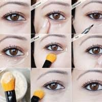 how to apply makeup hide under eye bags howsto co