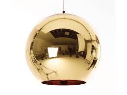 tom lighting. Tom Dixon Bronze Copper Shade Pendant Light 45cm Lighting