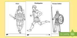 The olympians are a group of 12 gods who ruled after the overthow of the titans. Greek Gods Colouring Pages Teacher Made