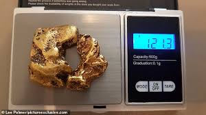 Gold Sniper Finds U K S Largest Gold Nugget Kitco News