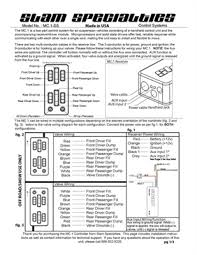 slam specialties, 8 switch manual controller accuair switchspeed management at Accuair Elevel Wiring Diagram