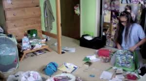Messy Teenage Bedrooms Cleaning My Messy Room Youtube