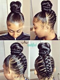Black Braided Bun Hairstyles Creative Braided Bun Via Ezbeautified Read The Article Here