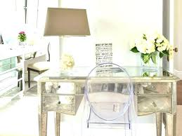 Mirrored office furniture Borghese Mirrored Office Desk Cheap Furniture White Shaped With Regard To Home Hooker Furniture Mirrored Office Zoomalsco Office Desk Mirror Design Images Mirrored Gold Bivindi