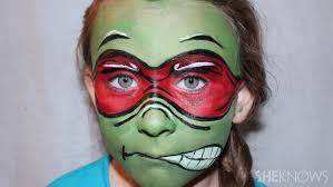 tmnt face paint diy
