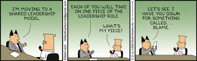 Image result for cartoon leadership throwing under the bus