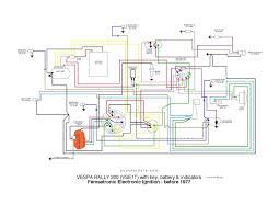 modern vespa rally 200 wiring Simple Wiring Diagrams vse1 wkey batt blinks b1977 jpg