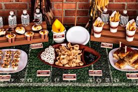 Super Bowl Party Decorating Ideas Vintage Football Super Bowl Tailgating Party Hello My Sweet 51