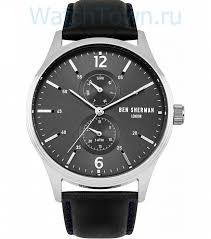 <b>Мужские</b> наручные <b>часы BEN</b> SHERMAN WB047B в Москве ...