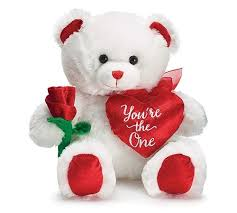 white teddy bears with hearts and roses. Delighful White White Teddy With Rose U0026 Heart Romantic Valentineu0027s Day Dubai To Bears With Hearts And Roses U