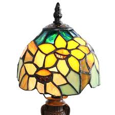 stained glass ceiling light sunflower blossoms style stained glass table lamp stained glass ceiling fan light covers