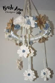 Paper Flower Mobiles Paper Flowers Archives Barb Ann Designs
