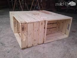 coffee table out of crates militariartcom
