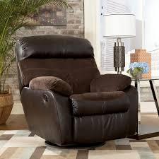 signature design by ashley berneen coffee swivel rocker recliner