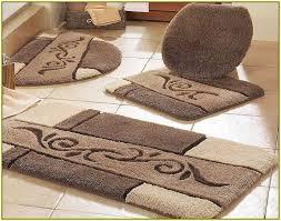 bathroom contour rug sets 7282 contour bath rug wagner 3 piece