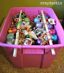Storage For Christmas Decorations Craptastic Cheap And Easy Diy Christmas Ornament Storage